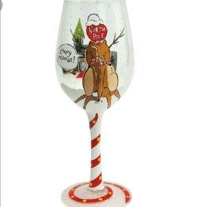 Lolita Cheery Mismas Wine Glass fun sale